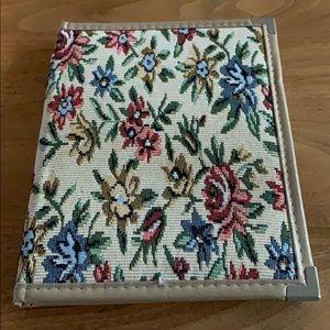 Fabric covered portfolio